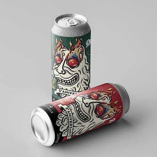 Granada Beer Festival Diseño etiquetas 1