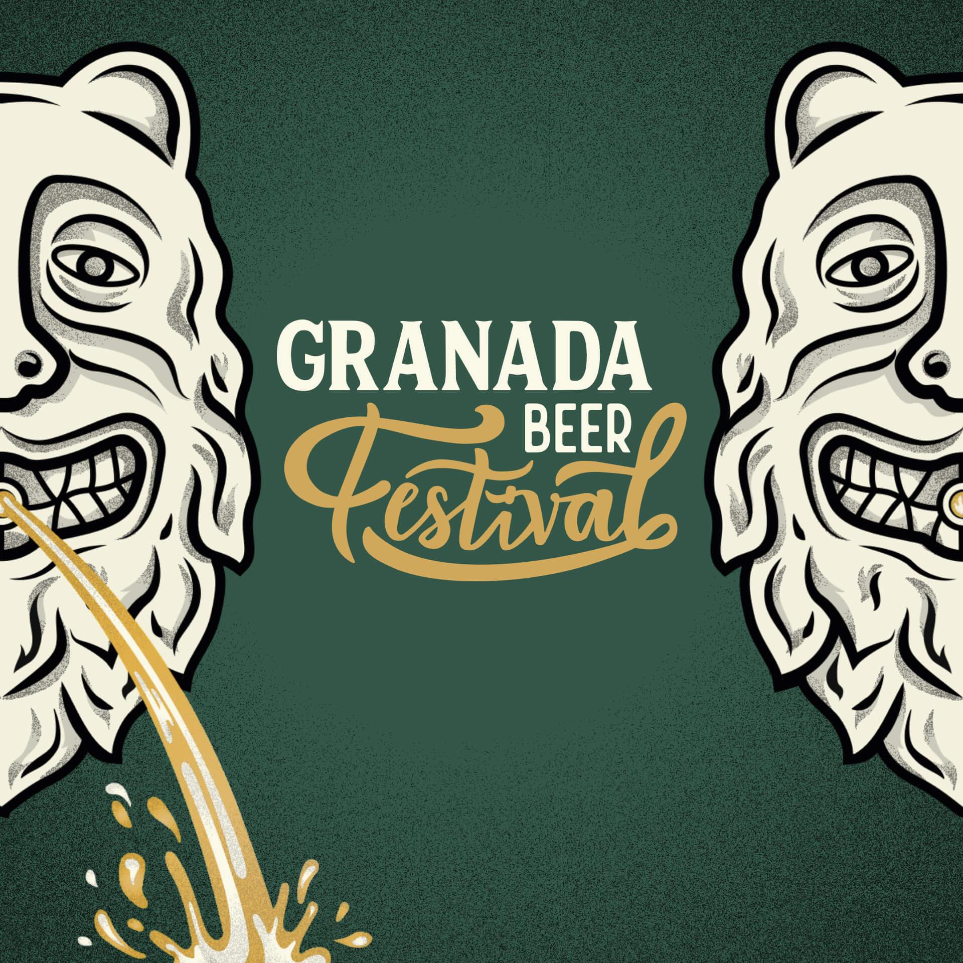 Granada Beer Festival Diseño etiquetas 3