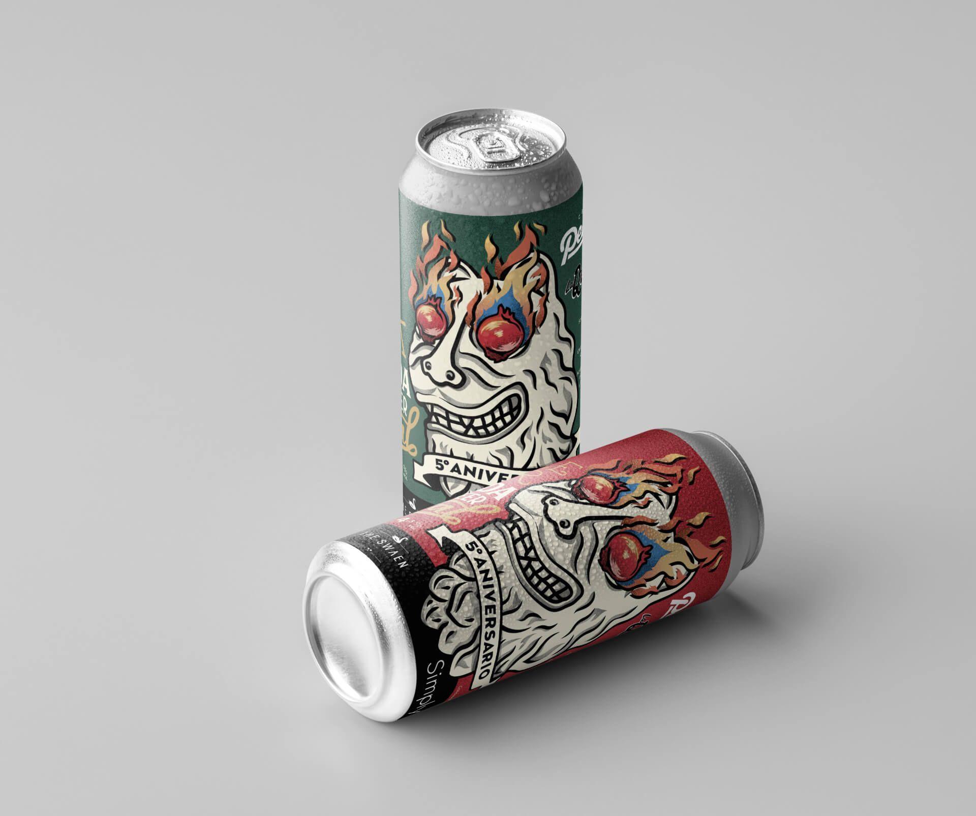 Granada Beer Festival Diseño etiquetas 4
